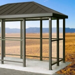 Anti-Scratch/Anti-Fog Coating for Bus Shelter