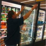 Freezer Door Anti-Fog Film Coating