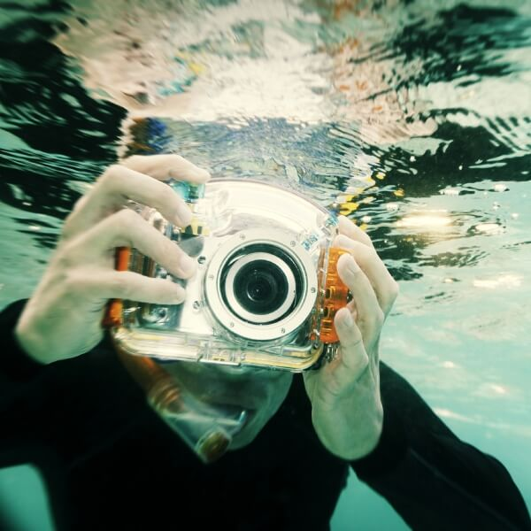 Underwater Camera Scratch resistant coating