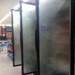 Anti-Fog Film for Freezer Doors