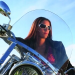Anti-Fog/Scratch Resistant Coating for Motorcycle Windshield