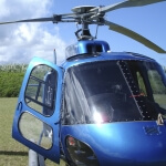 Helicopter Anti-Fog/Scratch Resistant Coating